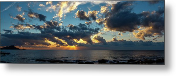 Sunrise On The French Riviera Metal Print