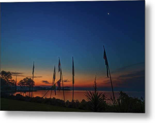 Sunrise On The Neuse 1 Metal Print