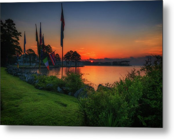Sunrise On The Neuse 2 Metal Print