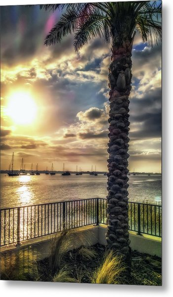 Sunrise Over The Matanzas Metal Print