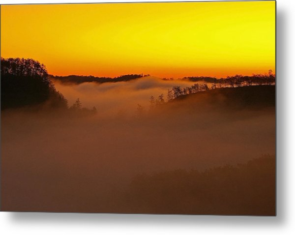 Sunrise Over The Red River Gorge. Metal Print