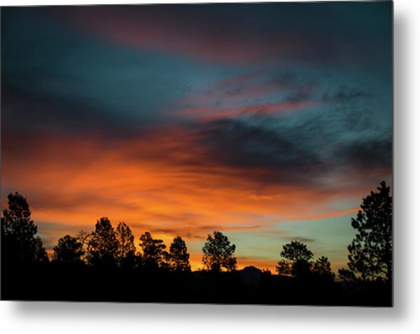 Sunrise Over The Southern San Juans Metal Print