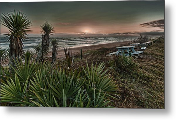 Sunrise Picnic Metal Print