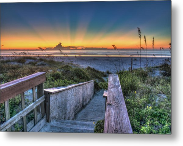 Sunrise Radiance Metal Print