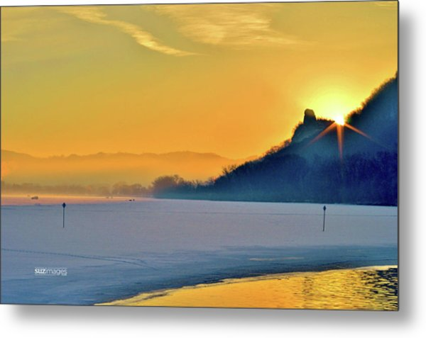Sunrise Sparkle Metal Print
