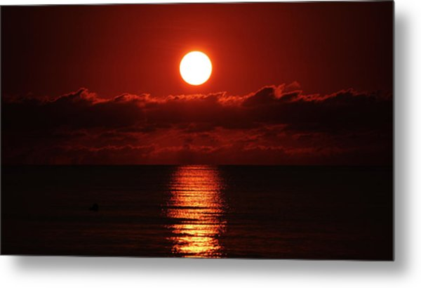 Sunrise Spotlight Delray Beach Florida Metal Print