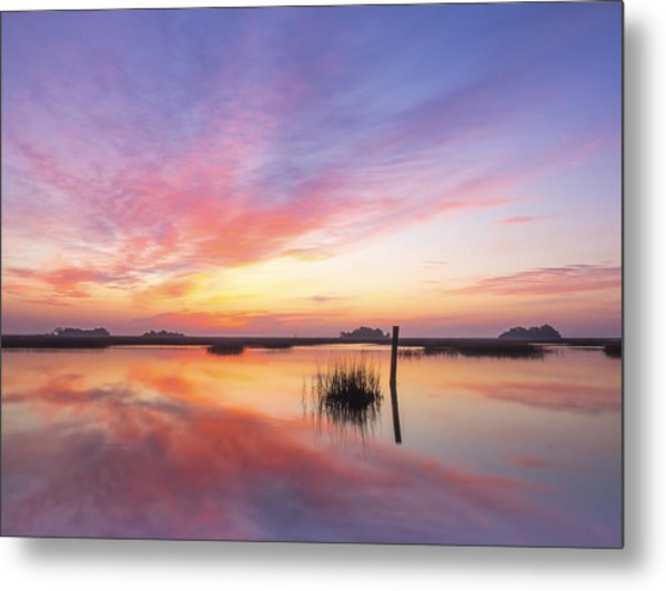 Sunrise Sunset Art Photo - I Belong Metal Print