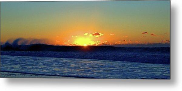 Sunrise Wave I I I Metal Print