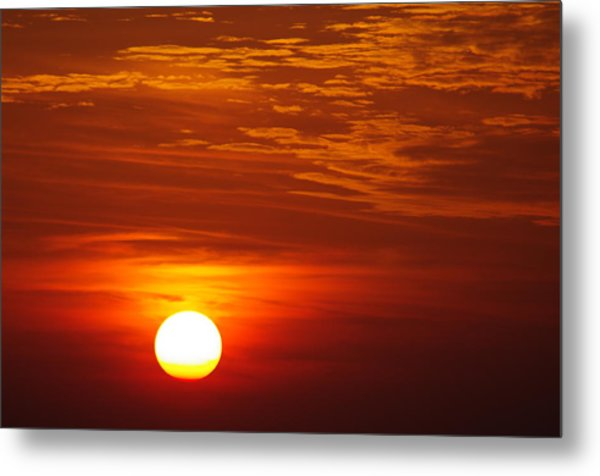 Sunset 11 Metal Print by Don Prioleau