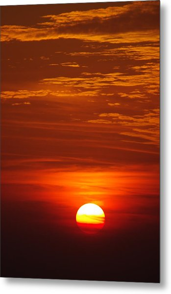 Sunset 13 Metal Print by Don Prioleau