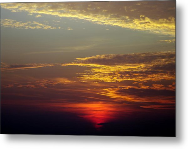 Sunset 18 Metal Print by Don Prioleau