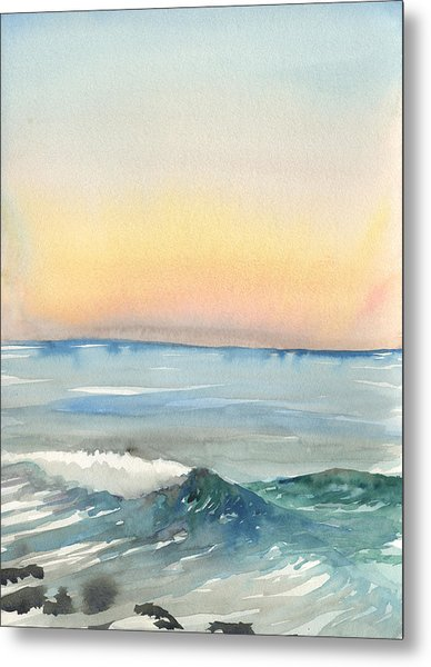 Sunset 33 - La Jolla Metal Print