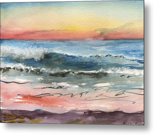Sunset 39 Imperial Beach Metal Print