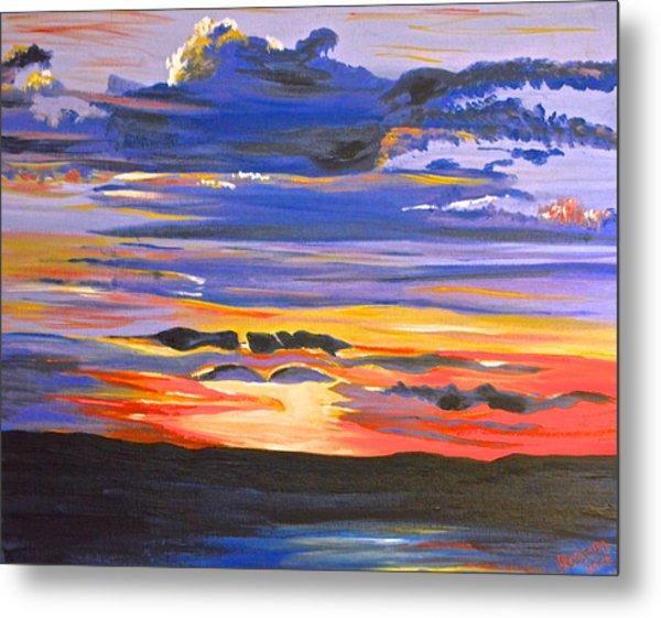 Sunset #5 Metal Print