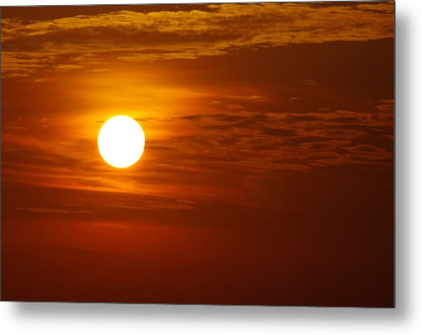 Sunset 7 Metal Print by Don Prioleau