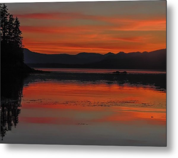 Sunset At Brothers Islands Metal Print