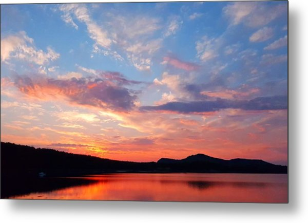 Sunset At Ministers Island Metal Print