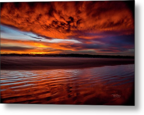 Sunset Beach 5 Metal Print