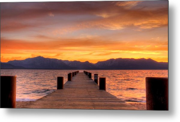 Sunset Bliss Metal Print