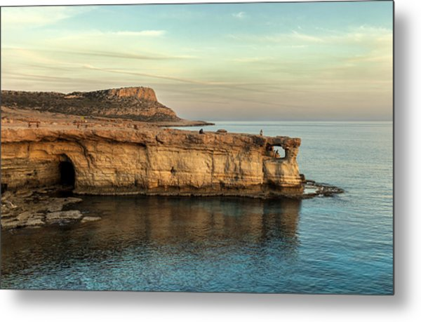 Sunset By The Cape Metal Print