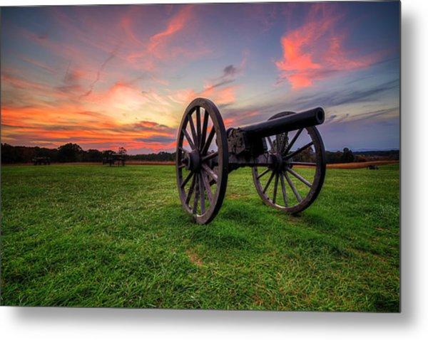 Sunset Canon Metal Print