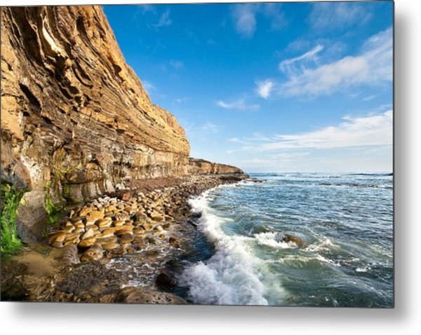 Sunset Cliffs Metal Print