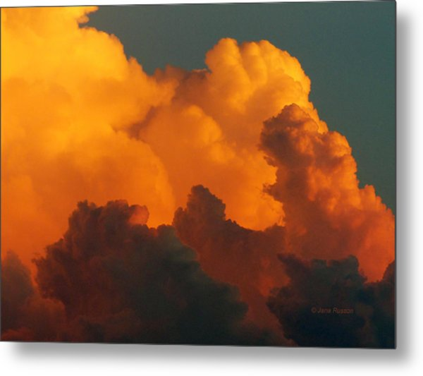 Sunset Clouds Metal Print
