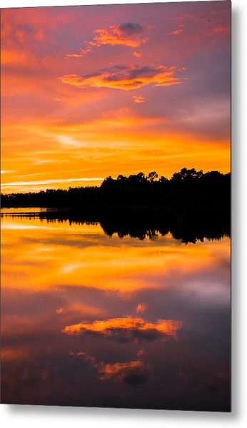 Sunset Colors Metal Print