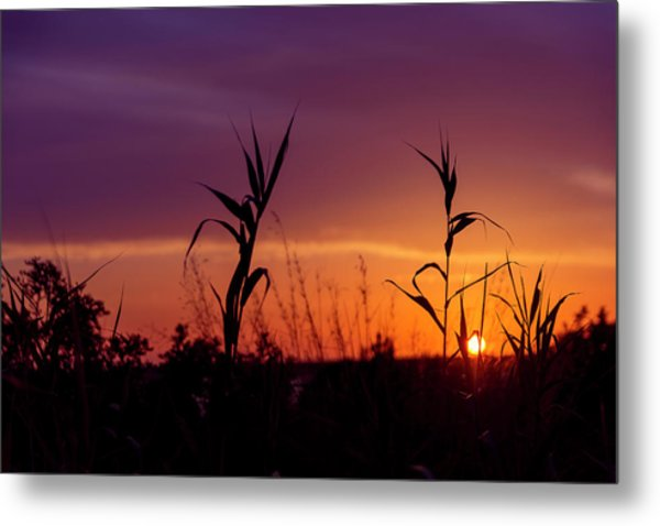 Sunset Colours Metal Print by Nikos Stavrakas