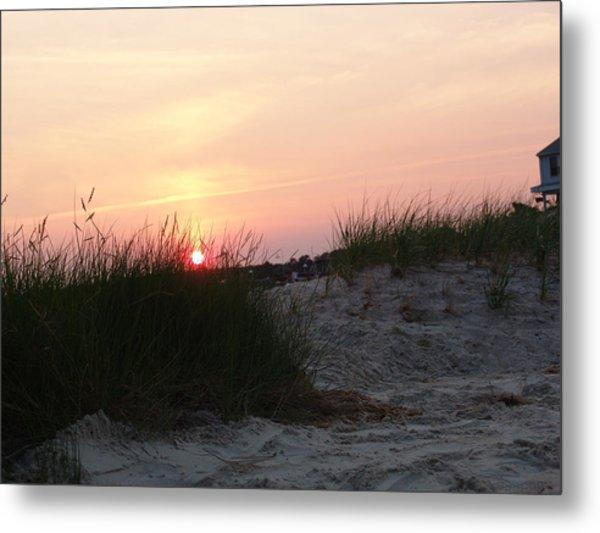 Sunset Dewey Beach Metal Print by Kevin Callahan