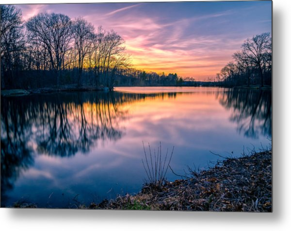 Sunset-dorothy Pond Metal Print