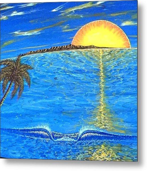 Sunset Dream Metal Print