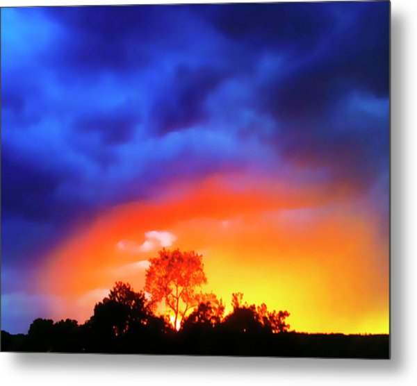 Sunset Extraordinaire Metal Print