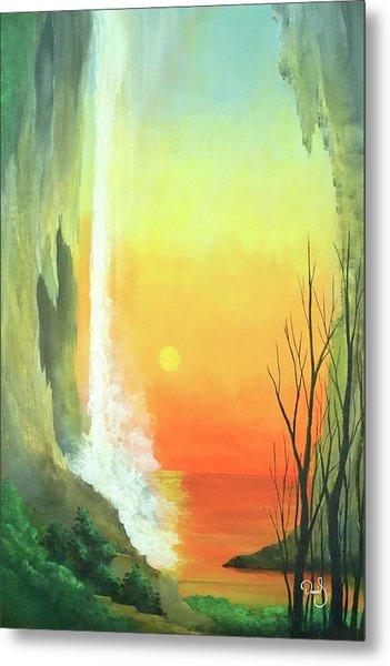 Sunset Fall  Metal Print by Daniel Sanchez