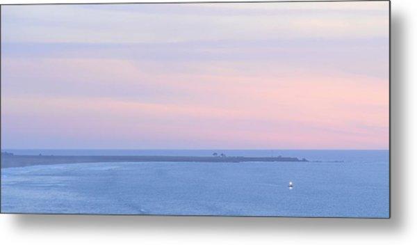 Sunset From Irish Beach Metal Print