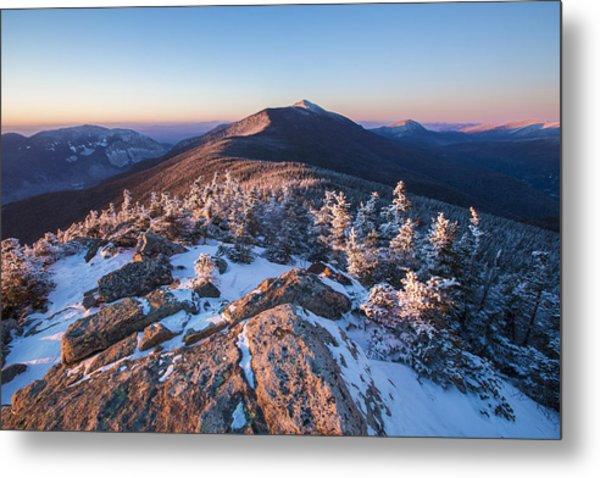 Sunset Glow On Franconia Ridge Metal Print