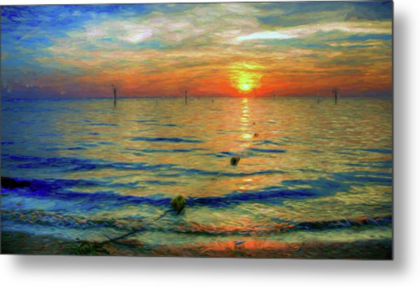 Sunset Impressions Metal Print