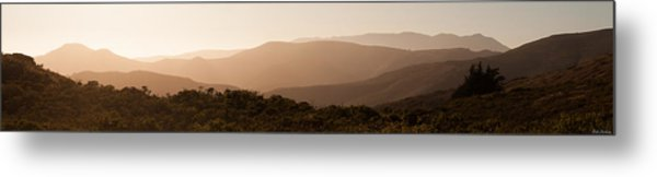 Sunset In California Metal Print