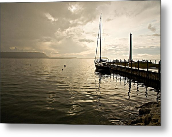 Sunset In Ephriam Metal Print by Carl Jackson