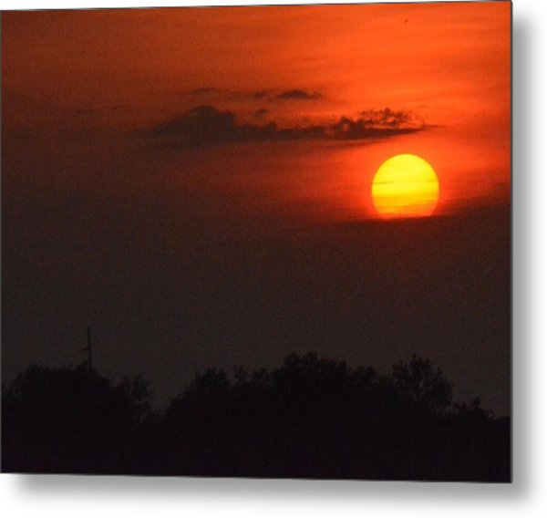 Sunset In Kentucky  Metal Print