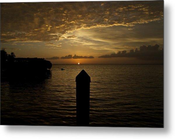 Sunset In Paradise Metal Print by Christin Walton