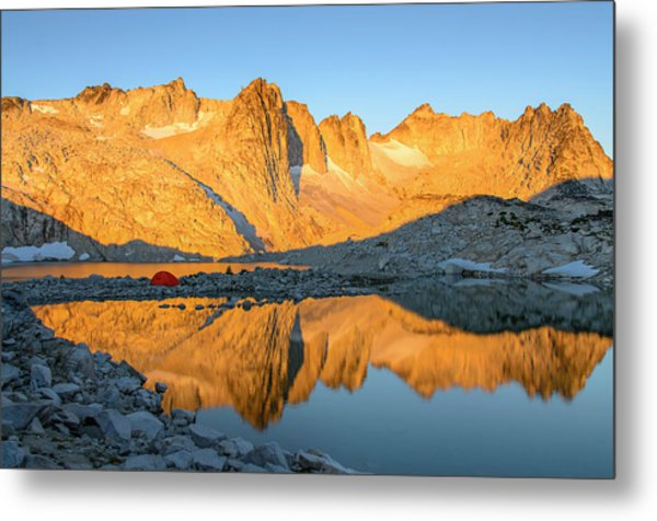 Sunset In The Enchantments Metal Print