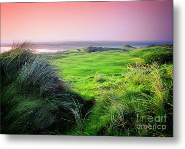 Sunset - Lahinch Metal Print