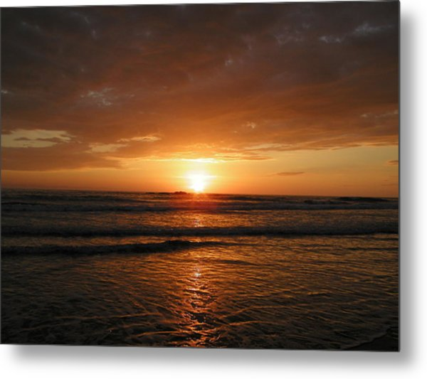 Sunset No.5 Metal Print by Gregory Young