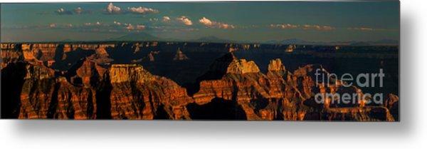 Sunset North Rim Grand Canyon National Park Arizona Metal Print