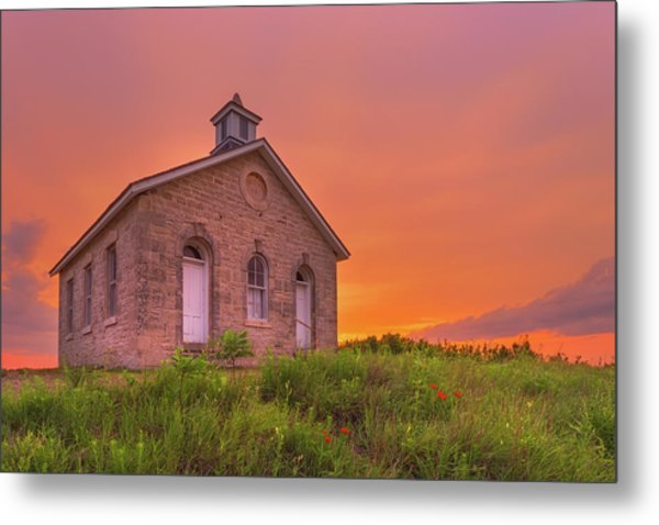 Metal Print featuring the photograph Sunset Of 1882 by Darren White