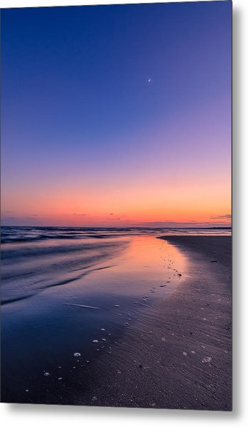 Sunset, Old Saybrook, Ct Metal Print