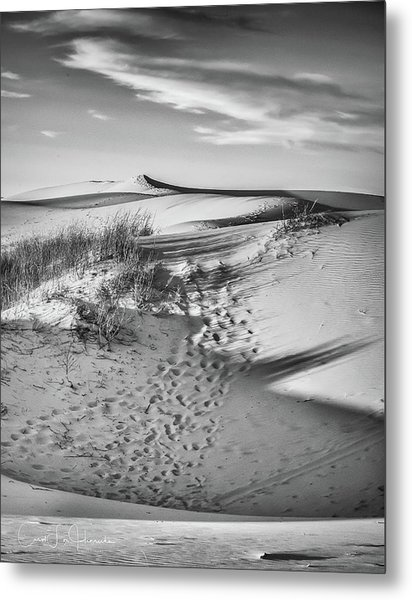 Sunset On The Dunes Metal Print