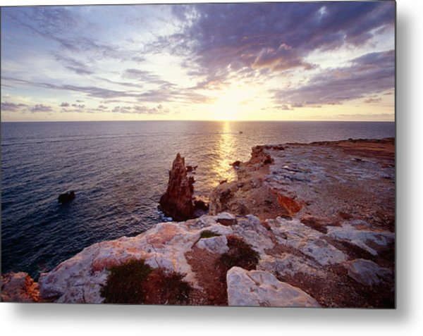 Sunset Over Cabo Rojo Puerto Rico Metal Print by George Oze