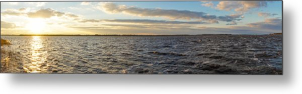 Metal Print featuring the photograph Sunset Over Cape Fear River by Willard Killough III